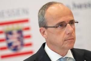 Hessens Innenminister Beuth: SEK Frankfurt wird aufgelöst