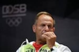 krise beim deutschen olympischen sportbund - präsident hörmann stellt vertrauensfrage kurz nach tokio-spielen