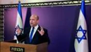 israel: acht parteien unterzeichnen koalitionsvertrag zur ablösung netanjahus