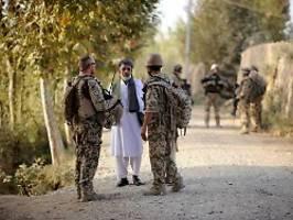 schutz nach bundeswehr-arbeit: 800 afghanische helfer bislang aufgenommen