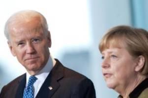 Diplomatie: Merkel besucht Biden am 15. Juli im Weißen Haus