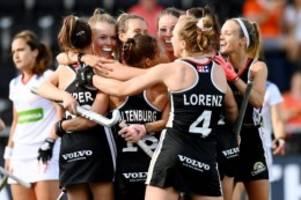 Turnier in Amsterdam: Hockey-Damen nach Sieg über Spanien wieder im EM-Finale