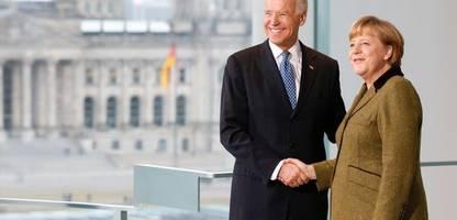 Angela Merkel besucht US-Präsident Joe Biden am 15. Juli im Weißen Haus