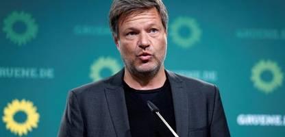 grüne: robert habeck warnt delegierte vor parteitag vor unrealistischen forderungen