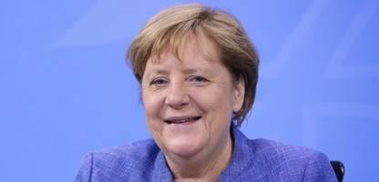 EM 2021: Angela Merkel trifft die deutsche Fußball-Nationalmannschaft im Video-Chat