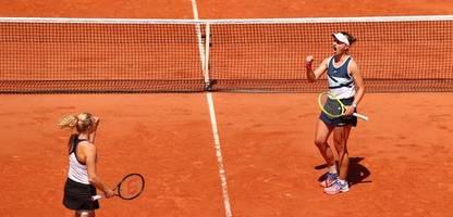 French Open: Barbora Krejcikova erreicht Finale im Einzel und Doppel