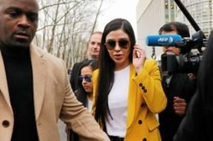 Drogenhandel: El Chapos Frau steht vor Gericht – und ist geständig