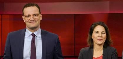 41 Prozent halten Rücktrittsforderungen an Spahn und Baerbock für gerechtfertigt