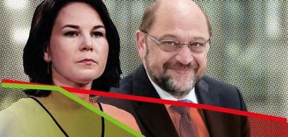 Annalena Baerbock ist noch schneller abgestürzt als Martin Schulz