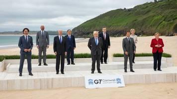 G7 mit Biden und Merkel: Eine Milliarde Impfstoffdosen für die Welt