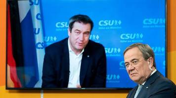 Union: Laschet und Söder versprechen Wirtschaft Steuersenkungen