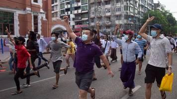 militärjunta: un warnen vor eskalation in myanmar