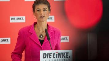 linken-spitze kritisiert antrag auf wagenknechts parteiausschluss scharf