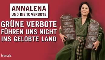 Reaktionen auf Baerbock-Werbeanzeige: Gleicht einer Hexenjagd im Mittelalter