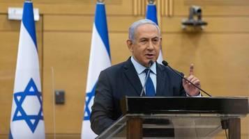 israel: regierungschef benjamin netanjahu droht langjährige haftstrafe