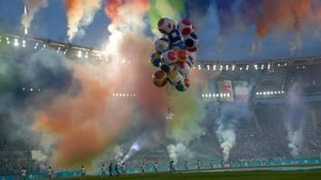 EM 2021: So lief die Eröffnungsfeier in Rom