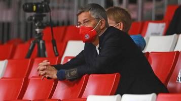 Hainer sieht FC Bayern für die Zukunft gut aufgestellt