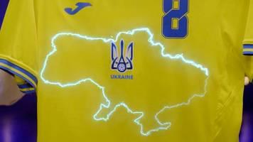 Russland kritisiert Trikot - Ukraine: Nationalistengruß wird zur Losung der National-Elf