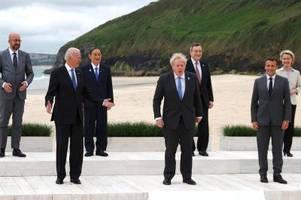 G7-Gipfel in Cornwall: Diskussion um Impfdosen in malerischer Kulisse
