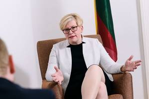 Ingrida Šimonyt: Kreml hat immer noch imperiale Ambitionen [premium]