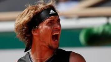 French Open: Zverev verpasst Finale nach Krimi gegen Tsitsipas