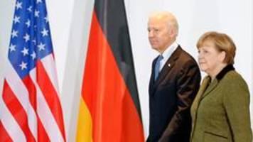 Joe Biden empfängt Angela Merkel Mitte Juli im Weißen Haus