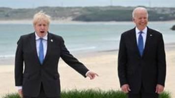 Johnson und Biden beim G7-Treffen: Frischer Wind - Gegenwind?