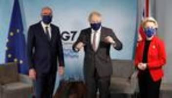 Brexit: Europäer setzen Boris Johnson im Streit um Handelsdeal unter Druck