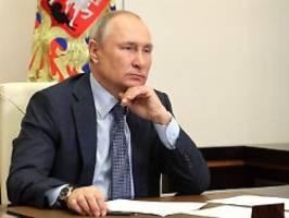 Biden ein Karrieremensch: Putin sieht Beziehungen zu USA am Tiefpunkt
