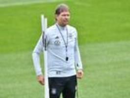 Die Deutschen sind froh, dass ihnen bis zum ersten Spiel etwas Zeit bleibt