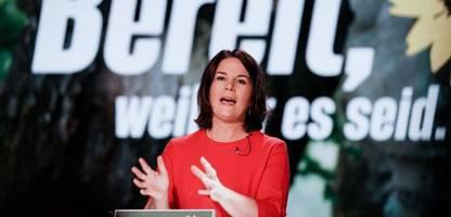annalena baerbock zur kanzlerkandidatin der grünen gekürt: »alles ist drin«