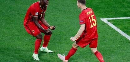 fußball-em 2021: romelu lukaku trifft und denkt an christian eriksen – belgien schlägt russland