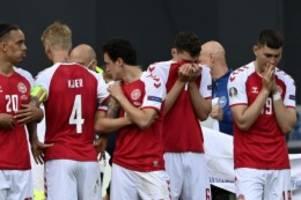 Fußball-EM: Dänischer Nationalspieler Eriksen nach Kollaps bei EM wach