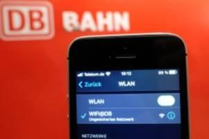Deutsche Bahn: Freies Wlan an 12 Prozent der Bahnhöfe in Deutschland