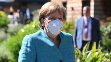 G7-Gipfel: Merkel nach erstem Treffen mit US-Präsident Biden zufrieden