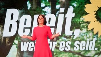 Parteitag: Grünen-Parteitag bestätigt Baerbock als Kanzlerkandidatin