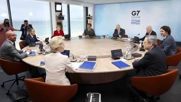 gipfel-treffen - milliarden-initiative: g7 kontert chinas neue seidenstraße