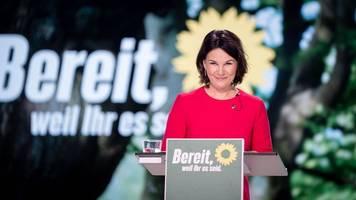 Parteitag: Grüne bestätigen Baerbock als Kanzlerkandidatin