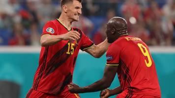 Fußball-EM - Torjubel für Eriksen: Lukaku führt Belgien zum Startsieg