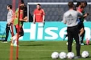 """fußball-em  - belgien - russland im live-ticker: der """"chef"""" fehlt beim auftakt"""
