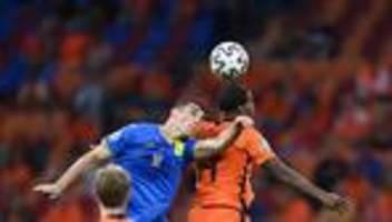 Fußball-Europameisterschaft: Niederlande siegen gegen Ukraine
