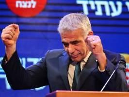 koalition des wandels zittert: israel kurz vor ende von netanjahu-Ära