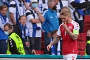 EM 2021: Retter, Tröster - und einfach Mensch: Dänemarks Simon Kjaer als Held im Eriksen-Drama
