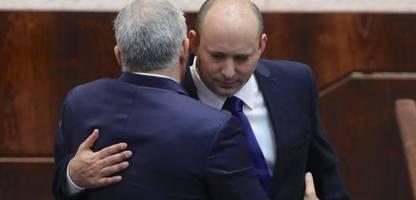 regierung in israel ohne netanyahu: historisch und zerbrechlich