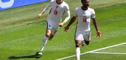 England-Matchwinner Raheem Sterling: Beliebt bei seinem Trainer und der Queen