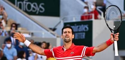 French Open 2021: Novak Djokovic gewinnt seinen 19. Grand Slam - die Bilder