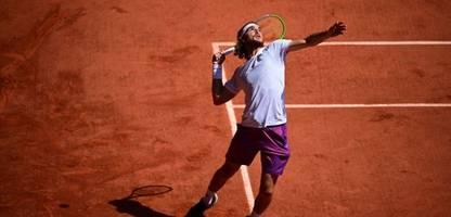 Stefanos Tsitsipas im Finale der French Open: Der Herausforderer mit dem Kämpferherz