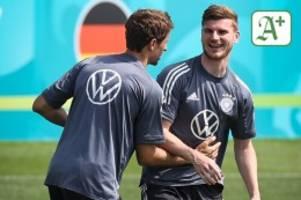 Fußball-EM: Timo Werner: Im DFB-Team sucht er noch seine Rolle