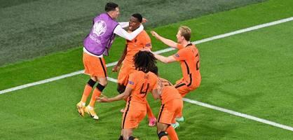 Niederlande besiegt die Ukraine – die Highlights im Video