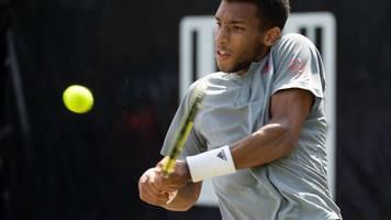 Finale des Tennis-Turniers: Cilic gegen Auger-Aliassime